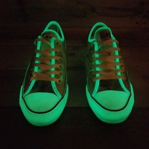 Converse Shoes - Glow In The Dark Converse Low Tops
